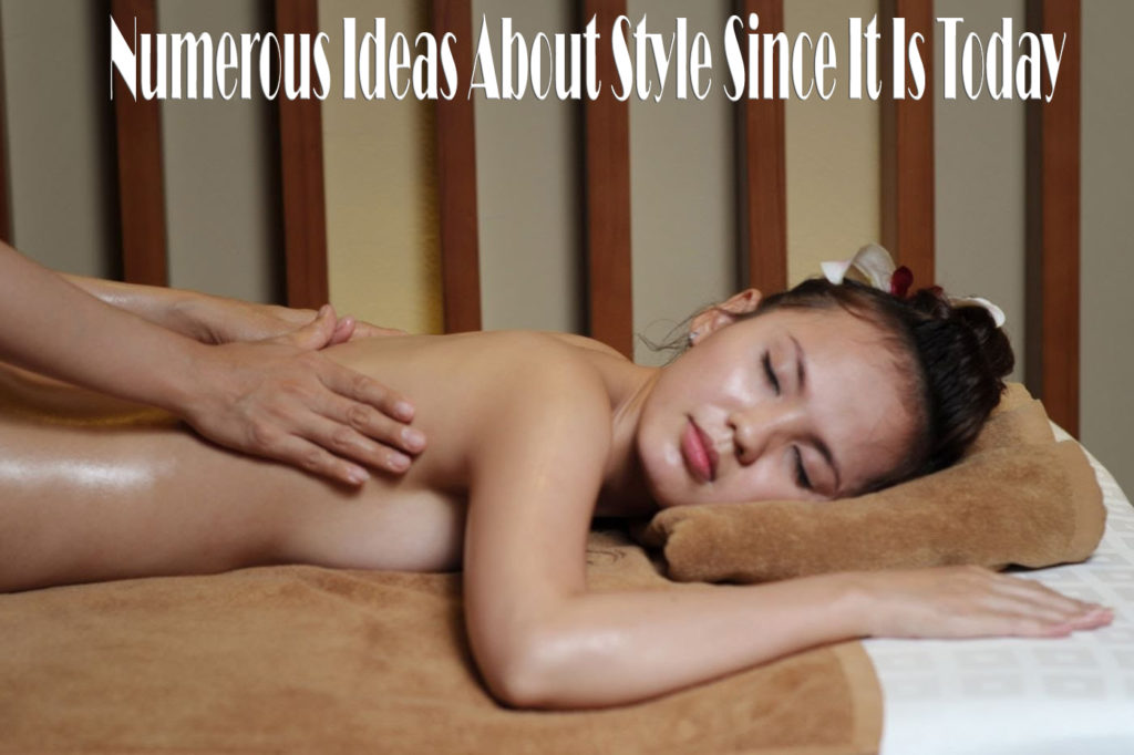 Numerous Ideas About Style Since It Is Today